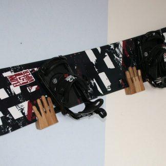 Wandhalter S (Snowboard) Hände