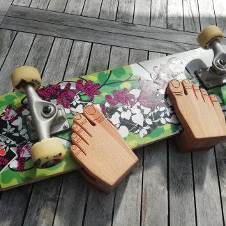 Wandhalter M (Skateboard/Longboard) Füße