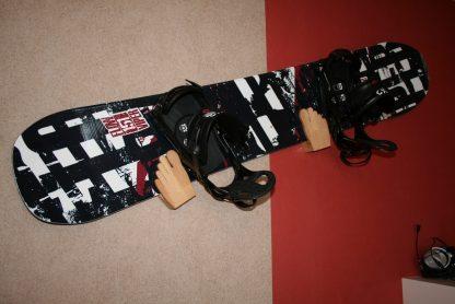 Wandhalter S (Snowboard) Füße